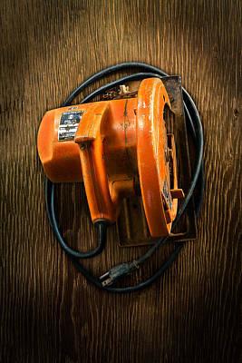 Tools On Wood 31 Art Print by YoPedro