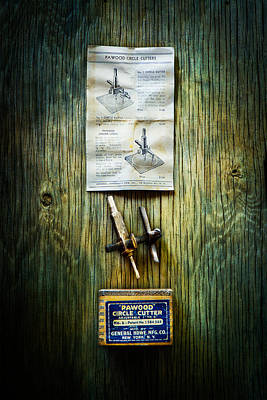 Photograph - Tools On Wood 37 by YoPedro