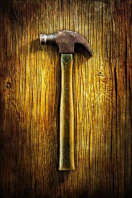Tools On Wood 40 Art Print by YoPedro
