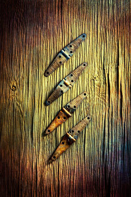 Photograph - Tools On Wood 45 by YoPedro