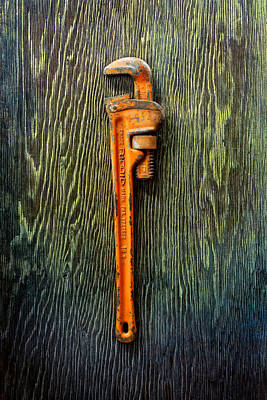 Tools On Wood 60 Art Print