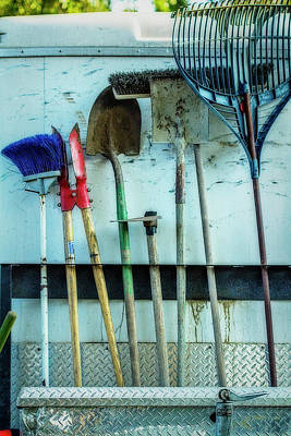 Tools To Get The Work Done Art Print