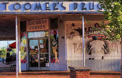 Toomer's Drugs Art Print