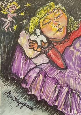 Fairys Painting - Tooth Fairy by Geraldine Myszenski