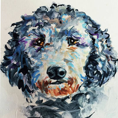 Painting - Toots by Judy Rogan