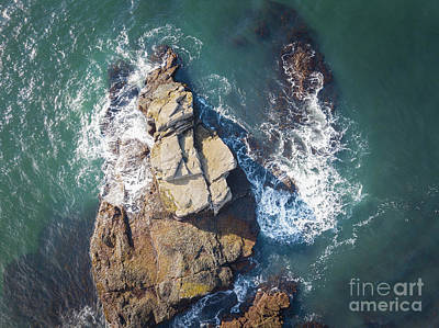 Photograph - Top Down View In Acadia National Park by Michael Ver Sprill