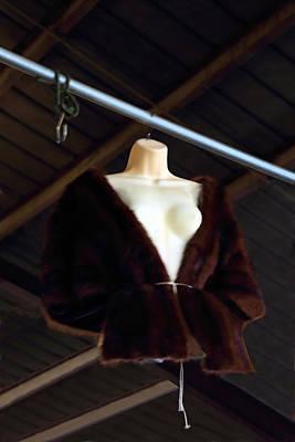 Photograph - Top Fur Coat by Viktor Savchenko