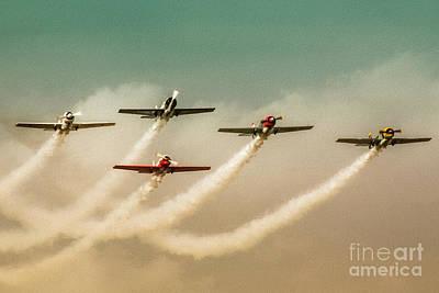 Spitfire Photograph - Top Gun Part One by Erik Brede