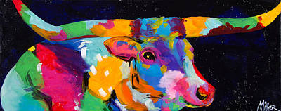 Colorado Artist Tracy Miller Painting - Top Gun by Tracy Miller