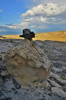 Photograph - Top Hat Boulder On Ruby Mountain by Ray Mathis