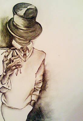 Top Hat Art Print by Danielle Nicole