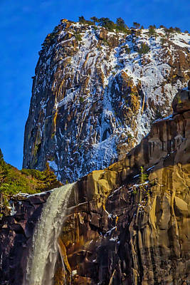 Photograph - Top Of Bridalveil Falls by Garry Gay