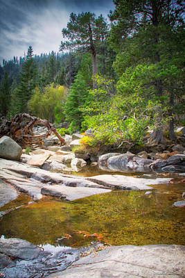 Photograph - Top Of Eagle Falls Emerald Bay Lake Tahoe by LeeAnn McLaneGoetz McLaneGoetzStudioLLCcom