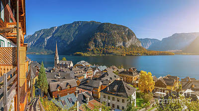 Photograph - Top Of Hallstatt by JR Photography