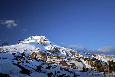 Photograph - Top Of Mt Hood by Craig Strand