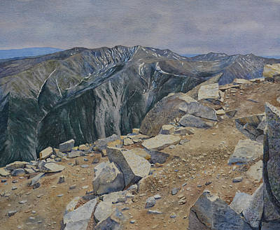 Painting - Top Of Mt. Princeton by Tyler Ryder
