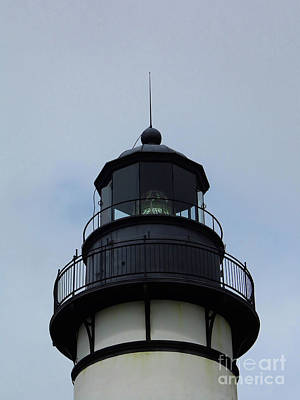 Photograph - Top Of The Amelia Island Lighthouse by D Hackett