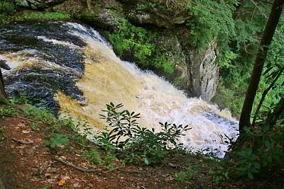 Photograph - Top Of The Falls by Karen Silvestri