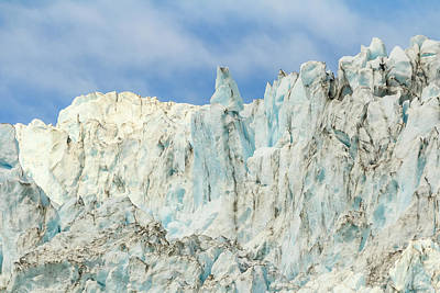 Photograph - Top Of The Glacier by Joni Eskridge