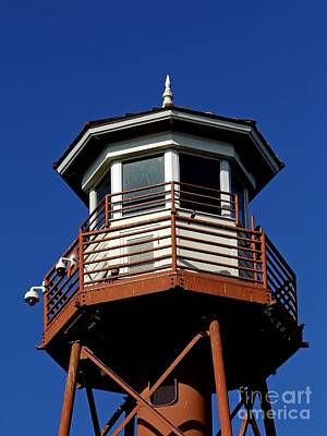 Photograph - Top Of The Lake Sumter Lighthouse by D Hackett