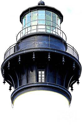 Photograph - Top Of The Lighthouse by Shelia Kempf