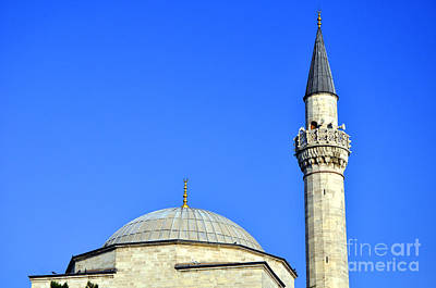 Photograph - Top Of The Mosque by Andrew Dinh