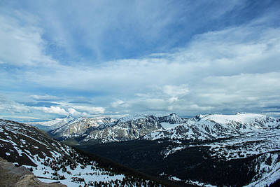 Photograph - Top Of The Rockies by Tyson Kinnison