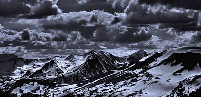 Photograph - Top Of The Rocky Mountains From Trail Ridge Road by Dan Sproul