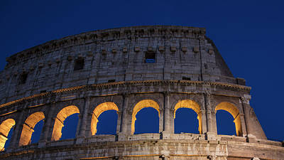 Photograph - Top Of The Roman Coliseum by John McGraw