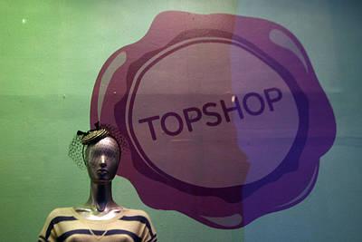 Top Shop Top Me Art Print by Jez C Self