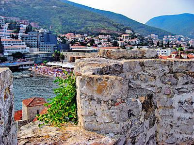 Top View. Budva. Montenegrin. Original