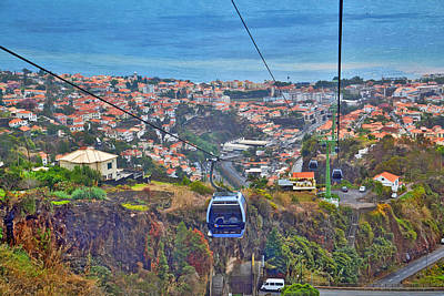 Cristiano Ronaldo Photograph - Top View.  Madeira. by Andy Za