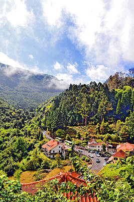 Cristiano Ronaldo Photograph - Top View. Madeira. Portugal. Europe. by Andy Za