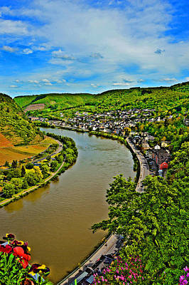 Top View. Moselle River. Original by Andy Za