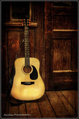 Photograph - Topanga Guitar by Scott Parker