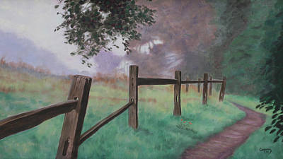 Painting - Topanga Morning by Todd Cooper