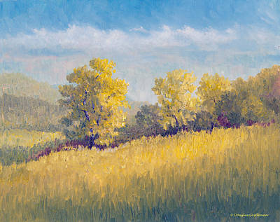 Painting - Topanga State Park Hills by Douglas Castleman