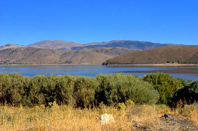 Blue Topaz Photograph - Topaz Lake Colors by Brad Scott
