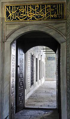 Photograph - Topkapi Palace Door Istanbul by Sally Ross