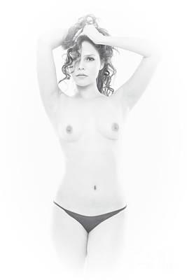 Photograph - Topless by Kiran Joshi