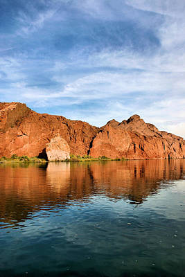 Photograph - Topock Gorge by Kristin Elmquist