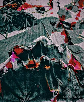 Painting - Topographical Abstract by Jacqueline McReynolds