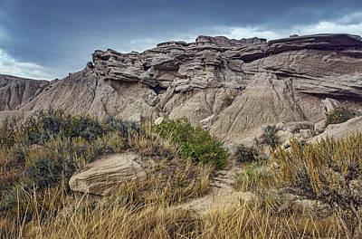 Photograph - Toppled - Toadstool Geologic Park by Nikolyn McDonald