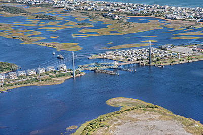 Green Color Photograph - Topsail Island The Iron Lady by Betsy Knapp