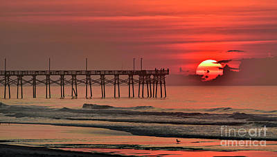 Photograph - Topsail Moment by DJA Images