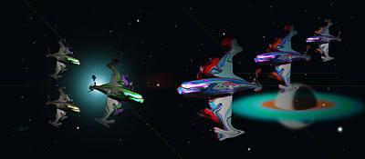 Science Fiction Photograph - Tora Tora Tora by Charles Stuart