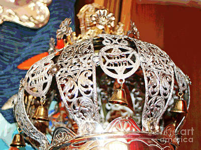 Photograph - Torah Crown by Larry Oskin