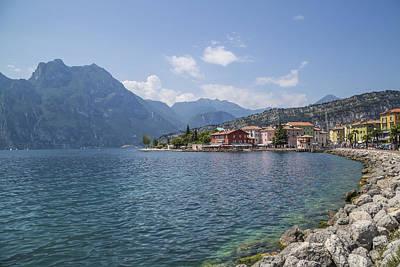 Lake Garda Photograph - Torbole Waterside by Melanie Viola
