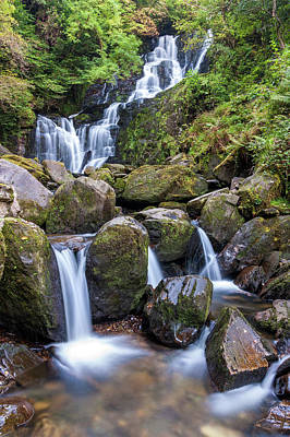 Photograph - Torc Waterfall Killarney National Park Ireland by Pierre Leclerc Photography