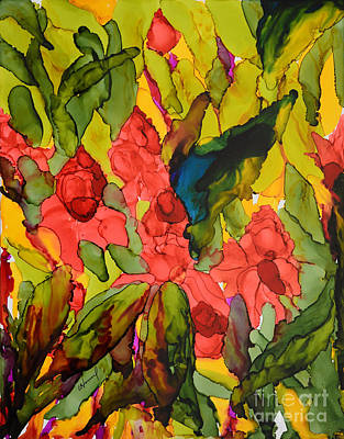 Painting - Torch Ginger In Philippines by Vicki  Housel